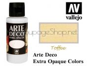 ACRYLICOS VALLEJO S.L. Arte Deco акрил, СУПЕР МАТ, 60мл - TOFFEE
