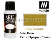 ACRYLICOS VALLEJO S.L. Arte Deco акрил, СУПЕР МАТ, 60мл - RAW SIENNA