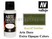 ACRYLICOS VALLEJO S.L. Arte Deco акрил, СУПЕР МАТ, 60мл - BURNT SIENNA