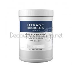 LEFRANC & BOURGEOIS GESSO BLANC MAT OPAQUE 500мл. - 300658