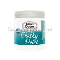 Тебеширена боя CHALKY PAINT - Maxi Decor - цвят 500 WHITE - 250МЛ.