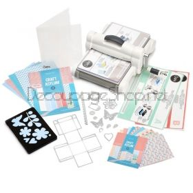 SIZZIX BIG SHOT PLUS STARTER KIT МАШИНА ЗА ИЗРЯЗВАНЕ И РЕЛЕФ  А4