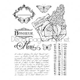 STAMPERIA HIGH DEFINITION STAMPS - ГУМЕНИ ПЕЧАТИ WTKCC103
